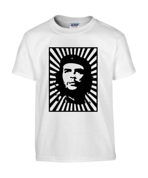 T-shirt Homme Che Guevara Affiche [Star, Célébrité, Révolutionnaire, Cuba] T-shirt Manches Courtes, Col Rond