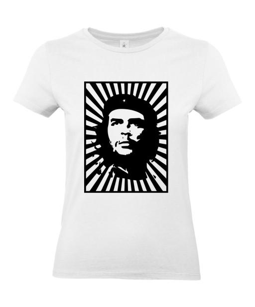 T-shirt Femme Che Guevara Affiche [Star, Célébrité, Révolutionnaire, Cuba] T-shirt Manches Courtes, Col Rond