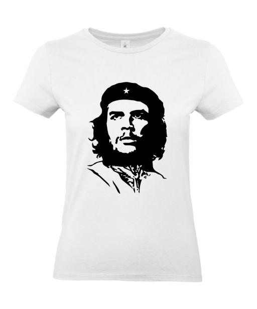 T-shirt Femme Che Guevara [Star, Célébrité, Révolutionnaire, Cuba] T-shirt Manches Courtes, Col Rond