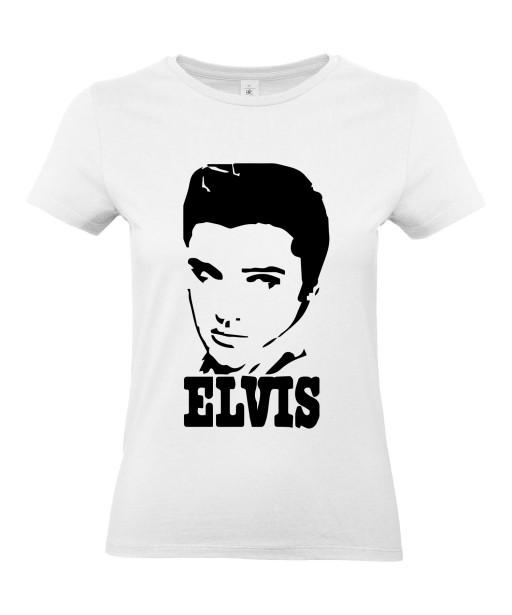 T-shirt Femme Elvis Signature [Chanteur, Célébrité, King, Presley, Musique] T-shirt manche Courtes, Col Rond