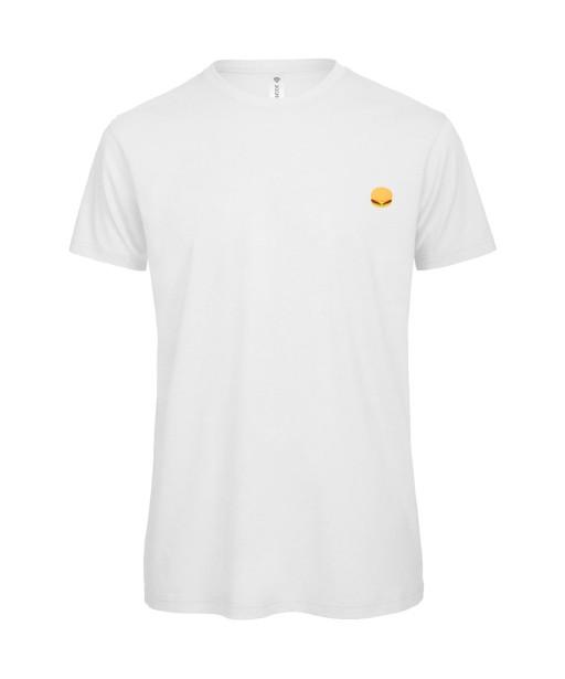 T-shirt Homme Burger [Food, Hamburger, Drôle, Rigolo] T-shirt manche courtes, Col Rond