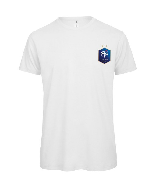 T-shirt Homme France [Foot, football, sport, Equipe de foot, France, Champion du monde, Euro] T-shirt manche courtes, Col Rond