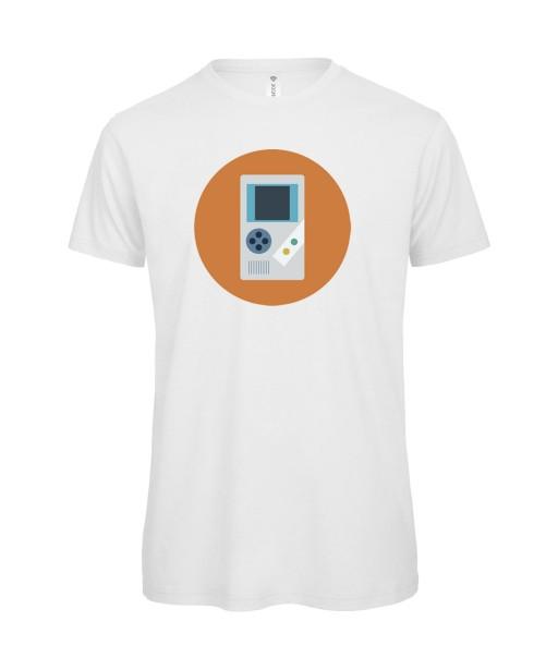 T-shirt Homme Console Portable [Geek, Pixel, Console Portable] T-shirt manche courtes, Col Rond