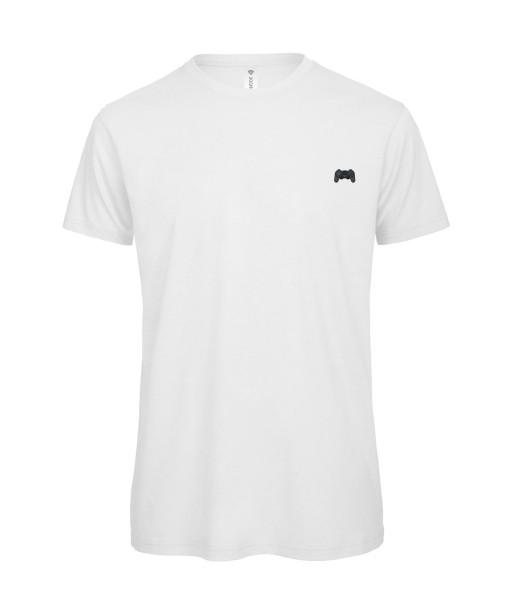 T-shirt Homme Manette [Geek, Pixel, Console] T-shirt manche courtes, Col Rond