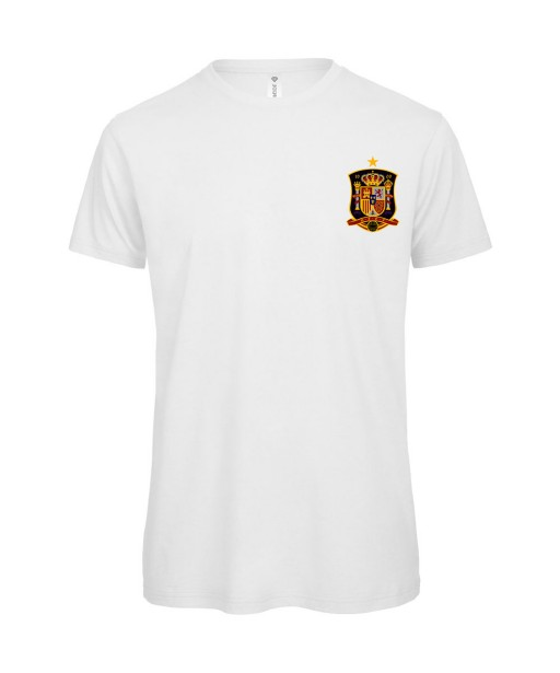 T-shirt Homme Foot Espagne [Foot, sport, Equipe de foot, Espagne, Espana] T-shirt manches courtes, Col Rond