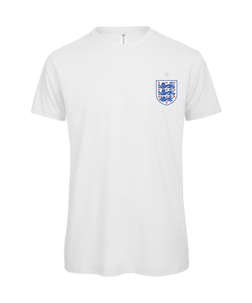 T-shirt Homme Foot Angleterre [Foot, sport, Equipe de foot, Angleterre, Lions] T-shirt manches courtes, Col Rond