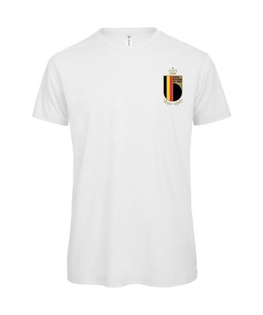 T-shirt Homme Foot Belgique [Foot, sport, Equipe de foot, Belgique, Diables Rouges] T-shirt manche courtes, Col Rond