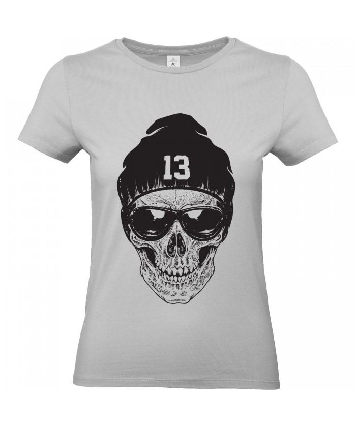 T Shirt Femme Tête De Mort Urban