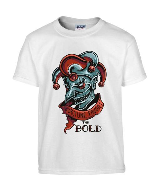 T-shirt Homme Joker [Humour Noir, Bouffon, Parodie, Citation] T-shirt Manches Courtes, Col Rond