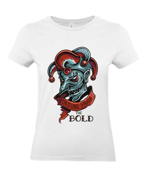 T-shirt Femme Joker [Humour Noir, Bouffon, Parodie, Citation] T-shirt Manches Courtes, Col Rond