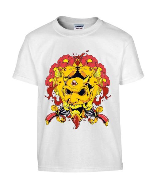 T-shirt Homme Trash Démon [Horreur, Gore] T-shirt Manches Courtes, Col Rond
