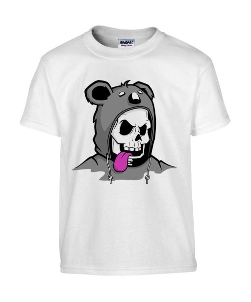 T-shirt Homme Trash Tête de Mort Koala [Humour Noir, Skull, Swag, Fun, Drôle] T-shirt Manches Courtes, Col Rond