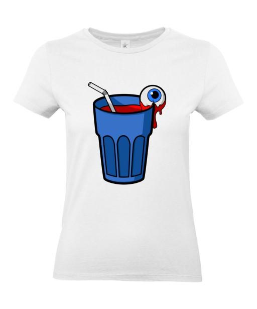 T-shirt Femme Trash Cocktail [Humour Noir, Boisson, Swag, Fun, Drôle] T-shirt Manches Courtes, Col Rond