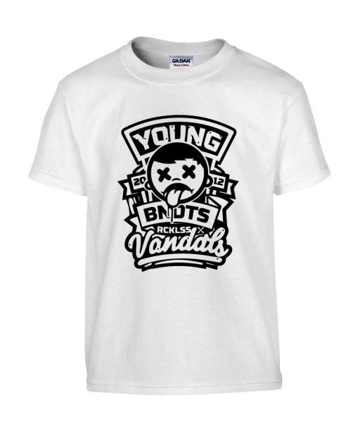T-shirt Homme Street Art Vandals [Urban, Swag, Graffiti, Sticker] T-shirt Manches Courtes, Col Rond