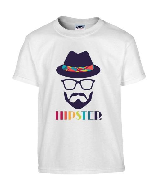 T-shirt Homme Hipster [Graphique, Design, Geométrie, Colorful] T-shirt Manches Courtes, Col Rond