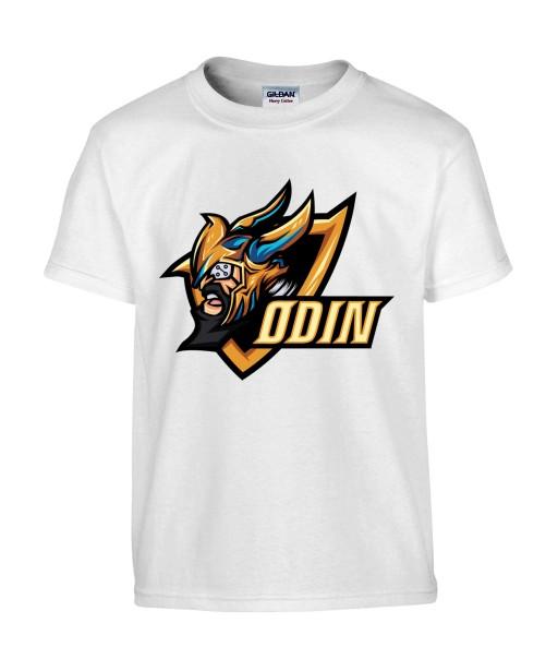 T-shirt Homme Geek Odin [Jeux Vidéos, Gamer, Comics, Marvel, Thor] T-shirt Manches Courtes, Col Rond
