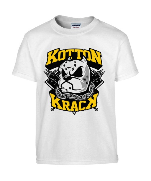 T-shirt Homme Kotton Krack [Street Art, Urban, Animaux, Swag, Chien, Pitbull] T-shirt Manches Courtes, Col Rond