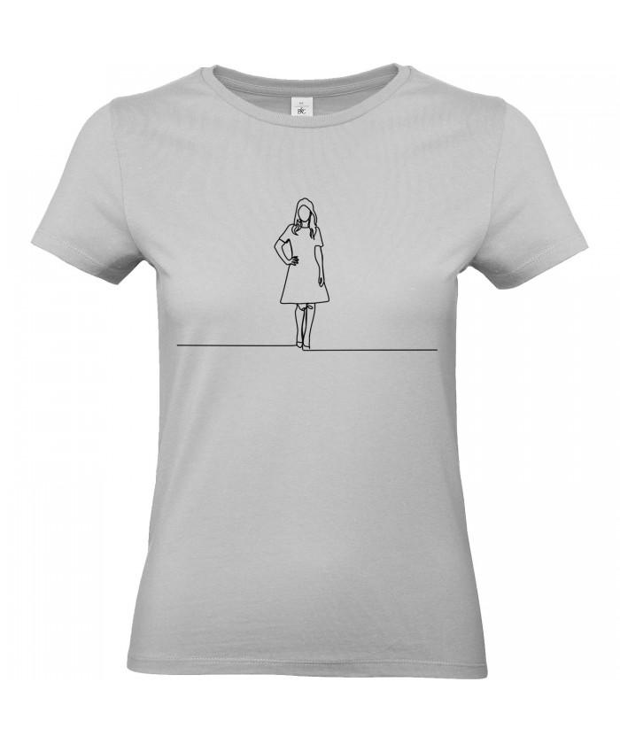 Mannequin T Shirt T Ligne Femme Nvm80Onw