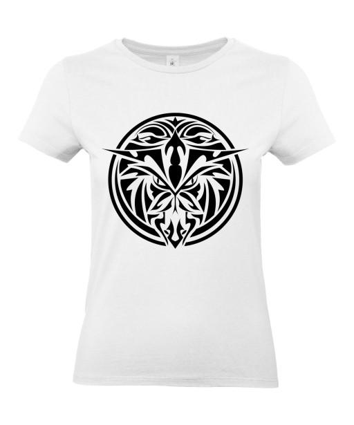 T-shirt Femme Tattoo Tribal [Tatouage, Graphique, Design] T-shirt Manches Courtes, Col Rond