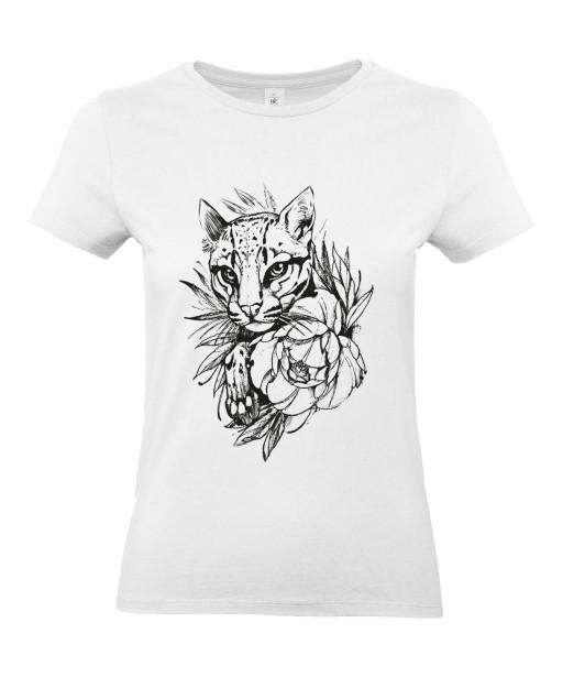 T-shirt Femme Tattoo Lionceau [Tatouage, Animaux, Graphique, Design, Lion, Zodiac] T-shirt Manches Courtes, Col Rond