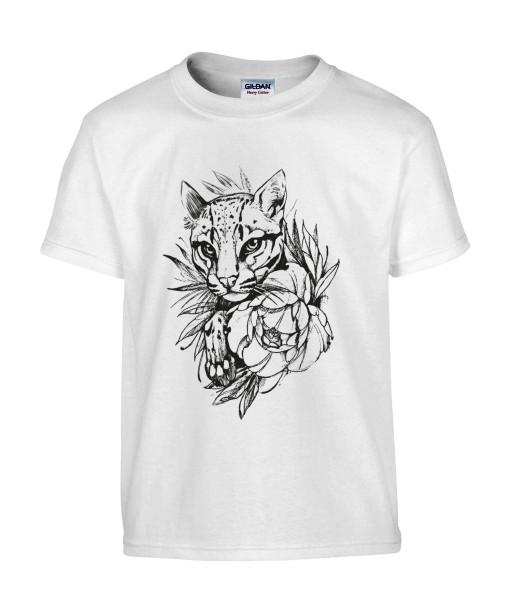 T-shirt Homme Tattoo Lionceau [Tatouage, Animaux, Graphique, Design, Lion, Zodiac] T-shirt Manches Courtes, Col Rond