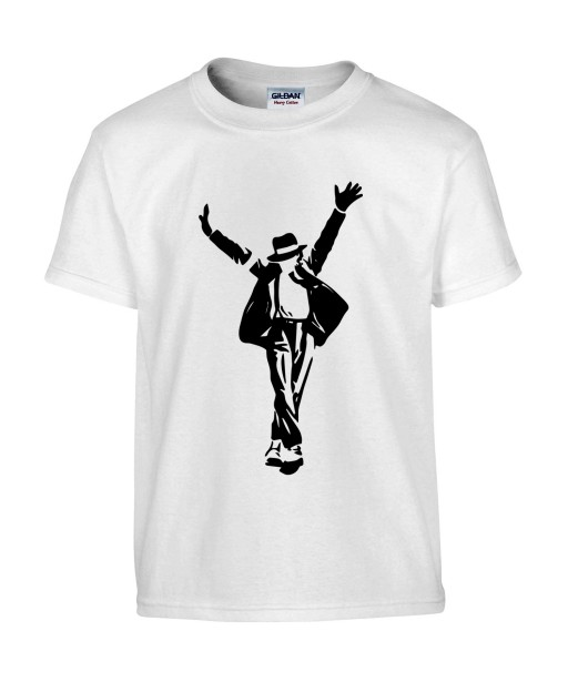 T-shirt Homme Michael Jackson King Of Pop [King, Pop, This Is It, Musique, Célébrité] T-shirt Manches Courtes, Col Rond