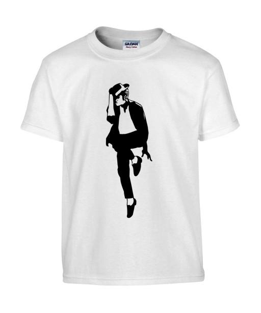 T-shirt Homme Michael Jackson Danse [King, Pop, Musique, Célébrité] T-shirt Manches Courtes, Col Rond