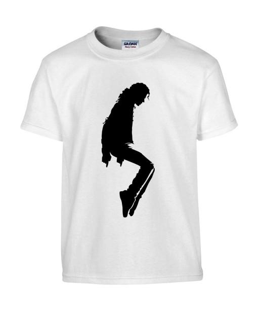 T-shirt Homme Michael Jackson Moonwalk [King, Pop, Musique, Célébrité] T-shirt Manches Courtes, Col Rond