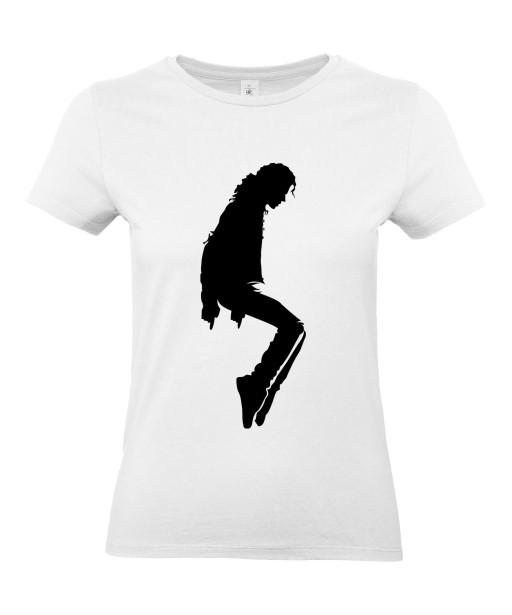 T-shirt Femme Michael Jackson Moonwalk [King, Pop, Musique, Célébrité] T-shirt Manches Courtes, Col Rond